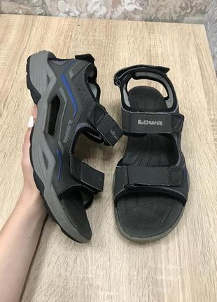 Lowa 41,5- 42 р босоножки босоніжки сандалии шлепки шльопанці .