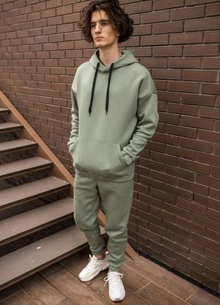 Утепленный мужской костюм