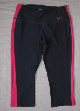 Nike dri-fit (xs) спортивные бриджи женские