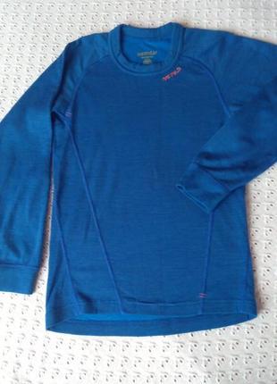 Термореглан devold з мериносової шерсті термобілизна лонгслив термо футболка термобелье