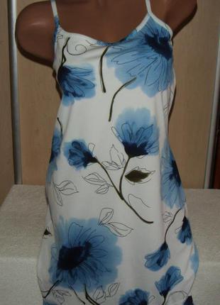 Легкое летнее платье/сарафан woodpecker/casual collection, размер 36/38