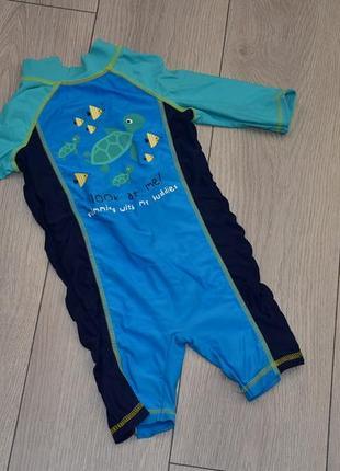 Детский плавательный костюм 12-18 месяцев 18-24 месяцев
