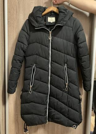 Стильная длинная куртка