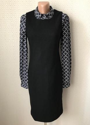 Офисное платье сарафан (шерсть, кашемир) от marc o polo, размер 34, укр 40-42