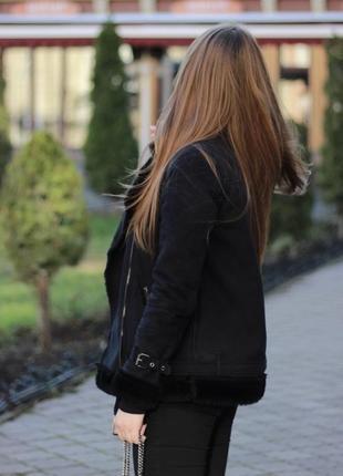 Дубленка/курточка с мехом house.наложенный платёж, срочная продажа
