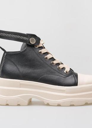 Кроссовки, сникерсы, ботинки, кроссы, кожа, платформа