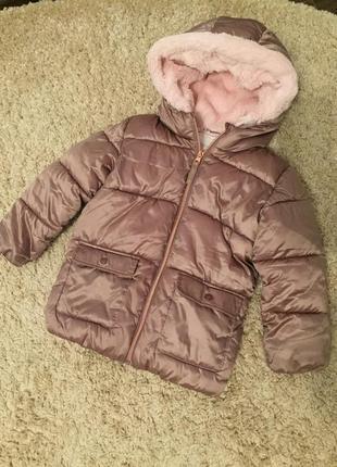 Куртка , пальто, плюшевый мех