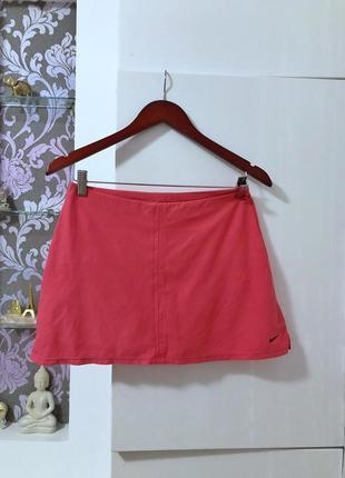 Теннисная юбка с шортами nike размер м
