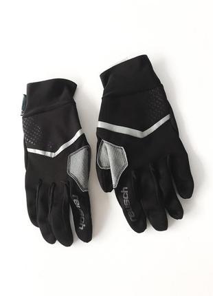 Спортивные лыжные перчатки противоветровые reusch stormbloxx touch-etc