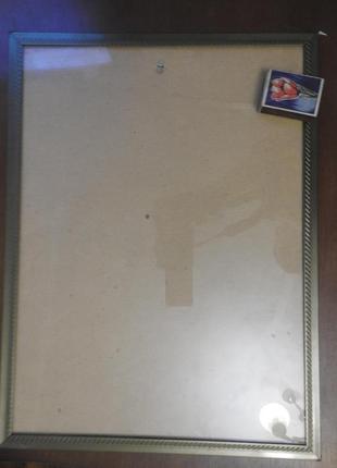 Рама для картины портрета фотографии 40 х 30 см металл стекло картон