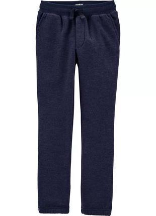 Темно-синие штанишки на флисовом начесе ошкош для мальчика