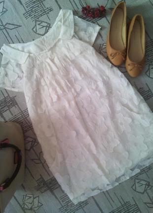 Нежное платье туника,размер s-m