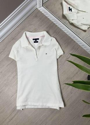 Женская футболка tommy hilfiger кофта майка поло томми хайфилгер оригинал