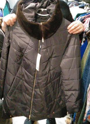 Куртка удлиненный зима 66 размер