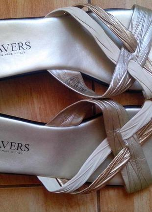 Рр 42-27 см новые удобные легкие стильные шлепанцы от pavers