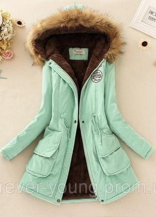 Парка куртка зимова