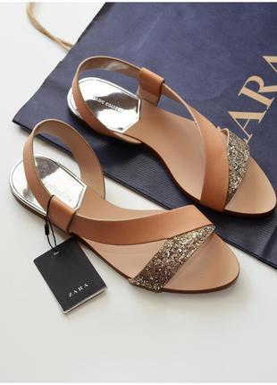 Идеальные сандалики zara