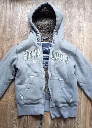 Толстовка,  куртка,  abercrombie на меху