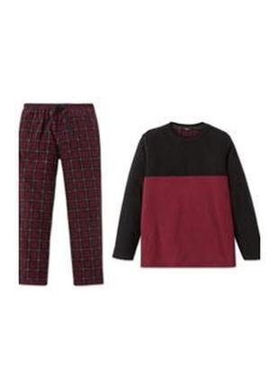Комплект для дома и отдыха теплая флисовая пижама