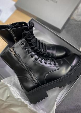 Ботинки tracktor boots black черевики