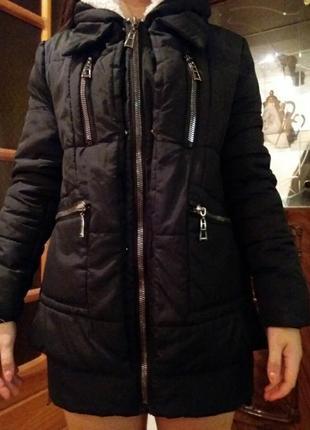 Куртка теплая зима.46 раз.