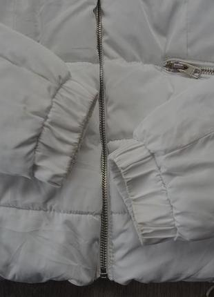 Куртка деми еврозима ф. bershka р. xs в отличном состоянии5 фото