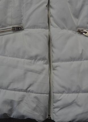 Куртка деми еврозима ф. bershka р. xs в отличном состоянии4 фото