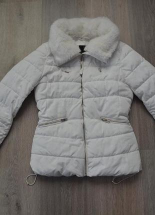 Куртка деми еврозима ф. bershka р. xs в отличном состоянии