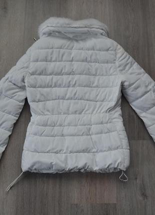 Куртка деми еврозима ф. bershka р. xs в отличном состоянии7 фото