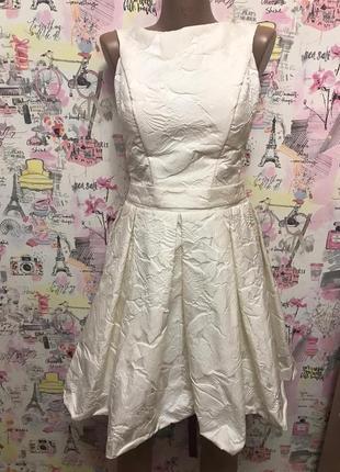 Свадебное платье , короткое платье