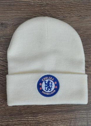 Стильная теплая шапка chelsea fc ® beani hats official merchandise