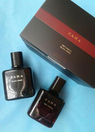 Zara red vanilla + zara black amber 2x100 ml