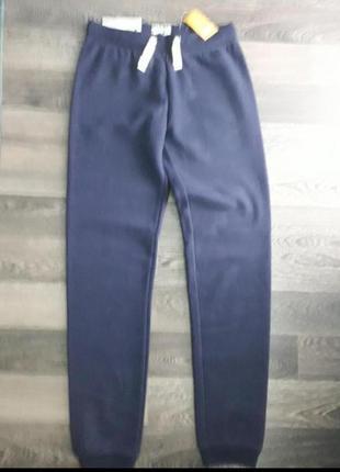 Утеплені штани для дівчинки 158-164