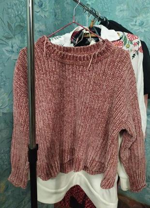 Крутой свитер оверсаз.