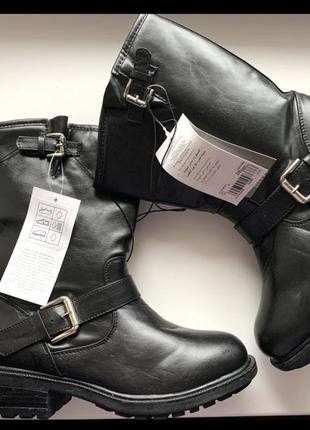 Демисезонные сапоги, высокие ботинки