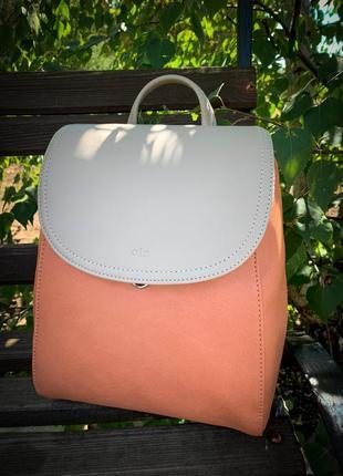 Очень красивый качественный рюкзак экокожа / классический городской / сумка