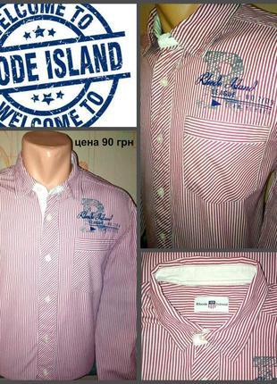 Стильная рубашка oт rhode island 💯 оригинал, молниеносная отправка 🚀⚡