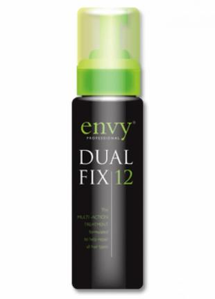 Пена для волос envy professional dual fix 12 кератин