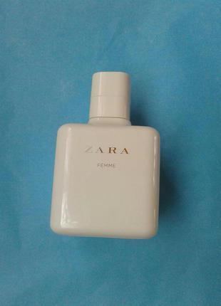 Zara femme 100 ml (нові, оригінал, без упаковки)