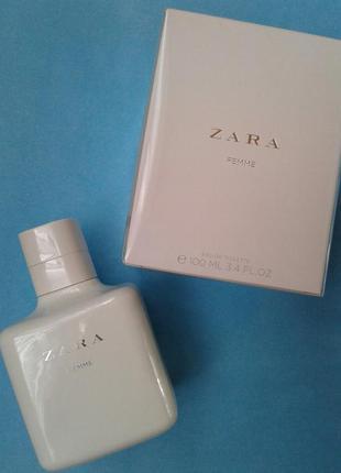 Zara femme 100 ml (оригвнал, в упаковці)