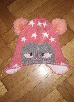 1+1=3 гарна шапочка для манюні від hema 86/92