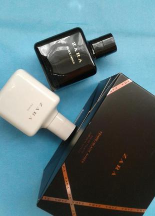 Набір zara black amber + femme 2x100 ml