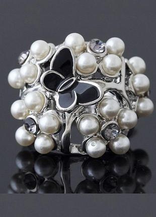🏵️шикарное ювелирное кольцо бабочка, 18 р., новое! арт.1260