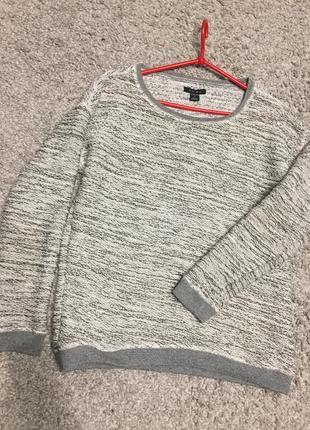Меланжевый свитерок реглан