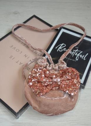 Фирменная сумочка сумка для модниц бант next некст