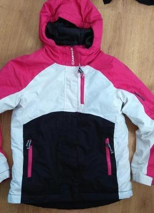 Лыжная куртка 128 размер