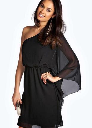 Невероятно крутое летнее платье на одно плечо