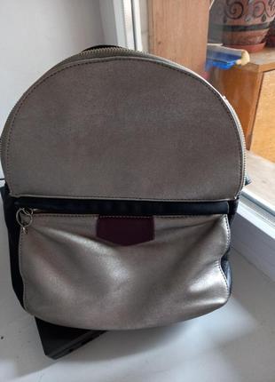 Рюкзак из нат кожи
