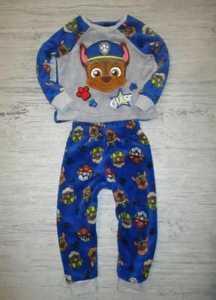 Клевенькая плюшевая пижамка фирмы маталан на 2-3 года