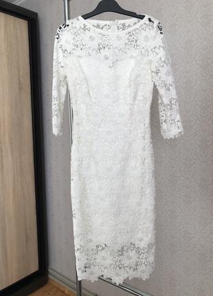 Плаття на розписку або  весілля
